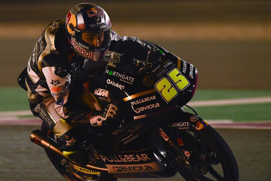 Raul Fernandez, Angel Nieto Team, Qatar Moto2™-Moto3™ Test