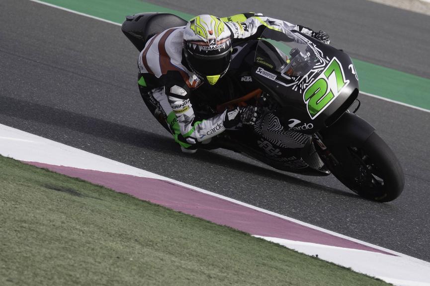 Iker Lecuona, American Racing KTM, Qatar Moto2™-Moto3™ Test