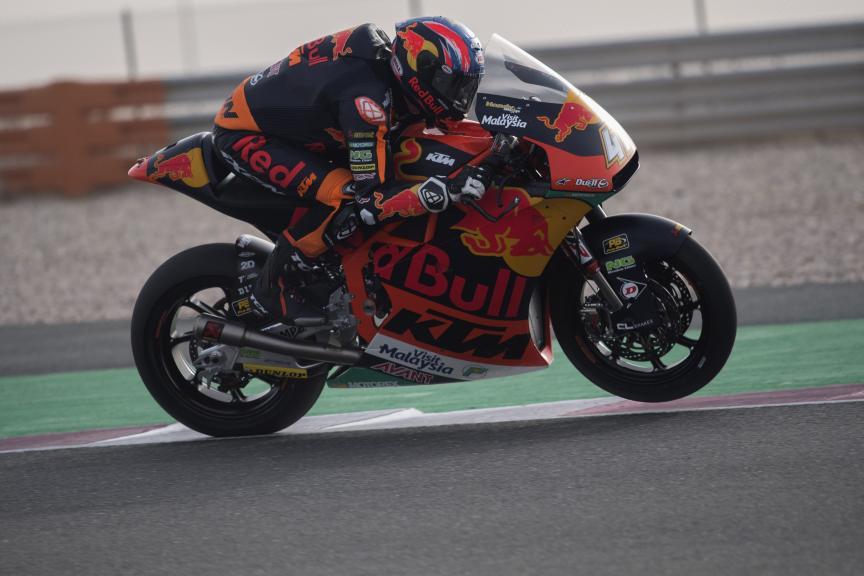 Brad Binder, Red Bull KTM Ajo, Qatar Moto2™-Moto3™ Test