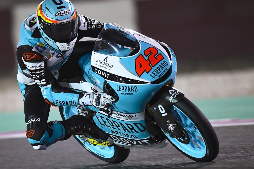 Marcos Ramirez, Leopard Racing, Qatar Moto2™-Moto3™ Test