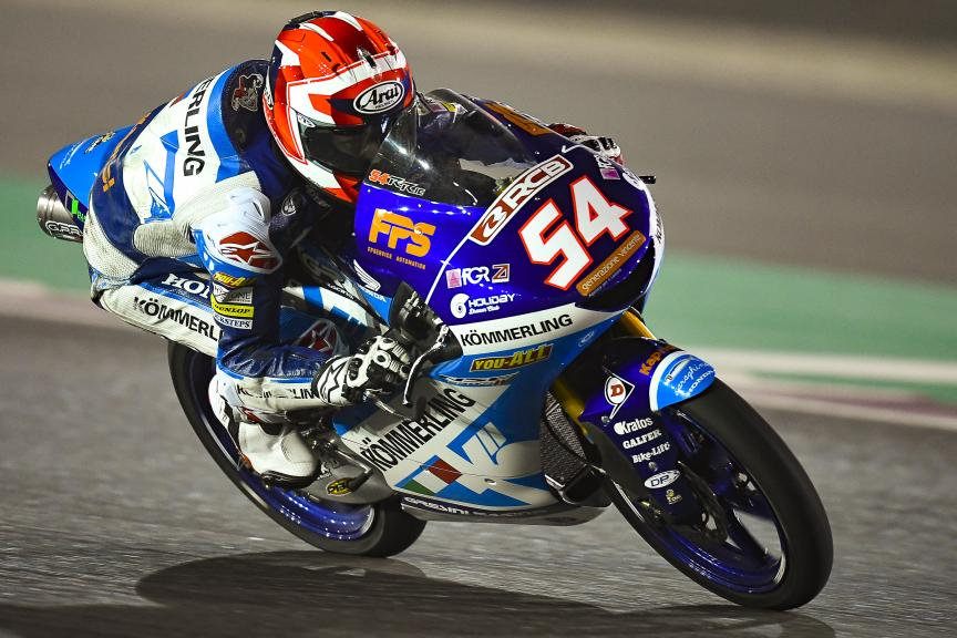 Riccardo Rossi, Kőmmerling Gresini Moto3, Qatar Moto2™-Moto3™ Test