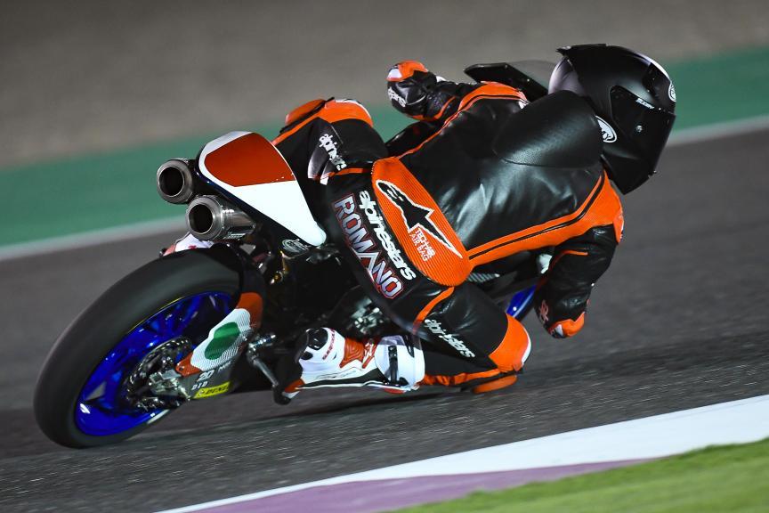 Romano Fenati, Snipers Team, Qatar Moto2™-Moto3™ Test