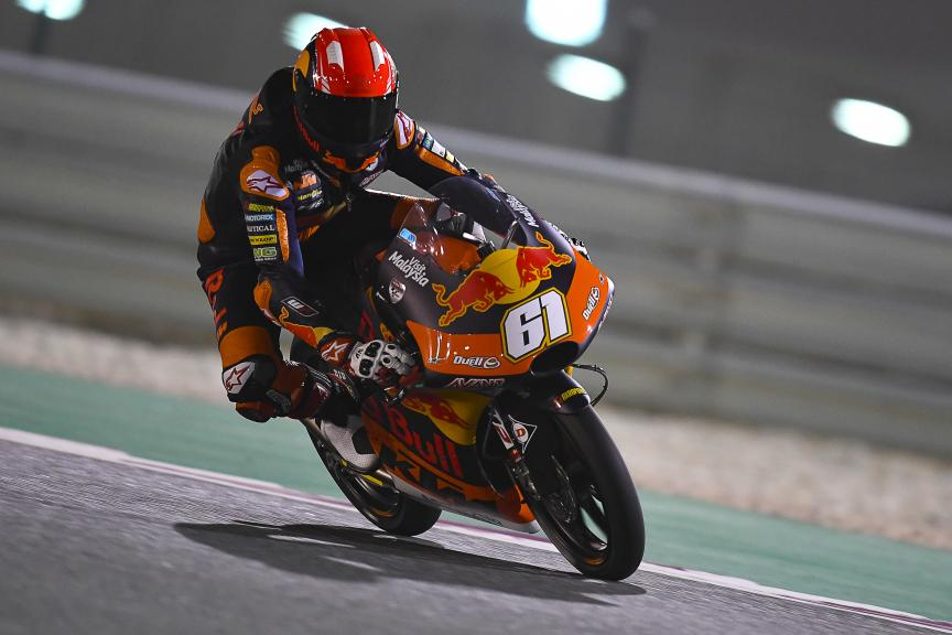 Can Oncu, Red Bull Ktm Ajo, Qatar Moto2™-Moto3™ Test