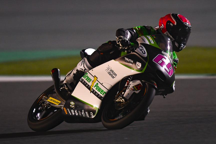 Tom Booth-Amos, CIP Green Power, Qatar Moto2™-Moto3™ Test