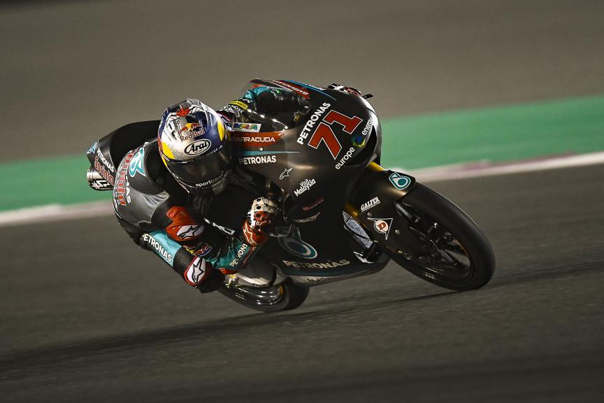 Ayumu Sasaki, Petronas Sprinta Racing, Qatar Moto2™-Moto3™ Test