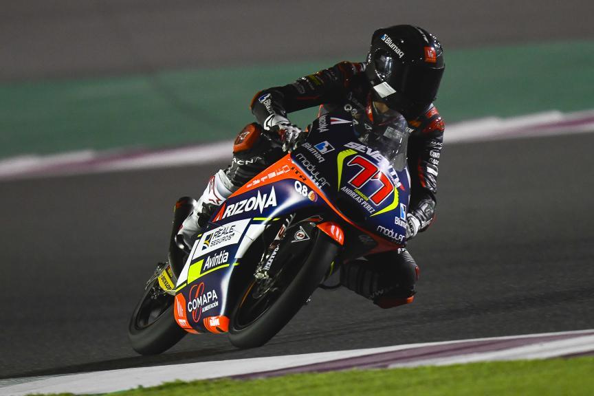 Vicente Perez, Reale Avintia Academy, Qatar Moto2™-Moto3™ Test