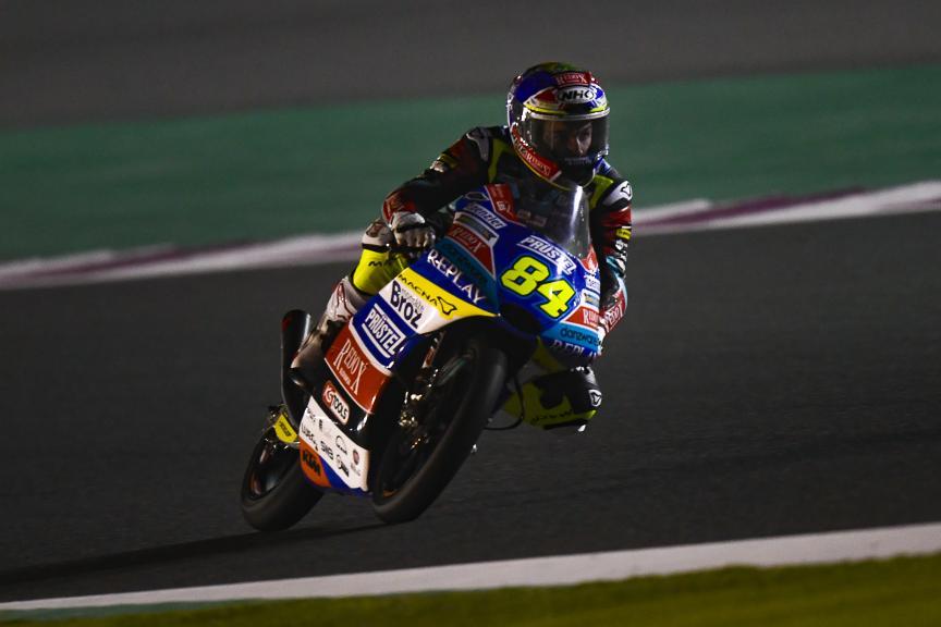 Jakub Kornfeil, Redox PruestlGP, Qatar Moto2™-Moto3™ Test