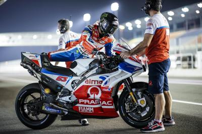 Pecco Bagnaia sets his sights on Rookie of the Year