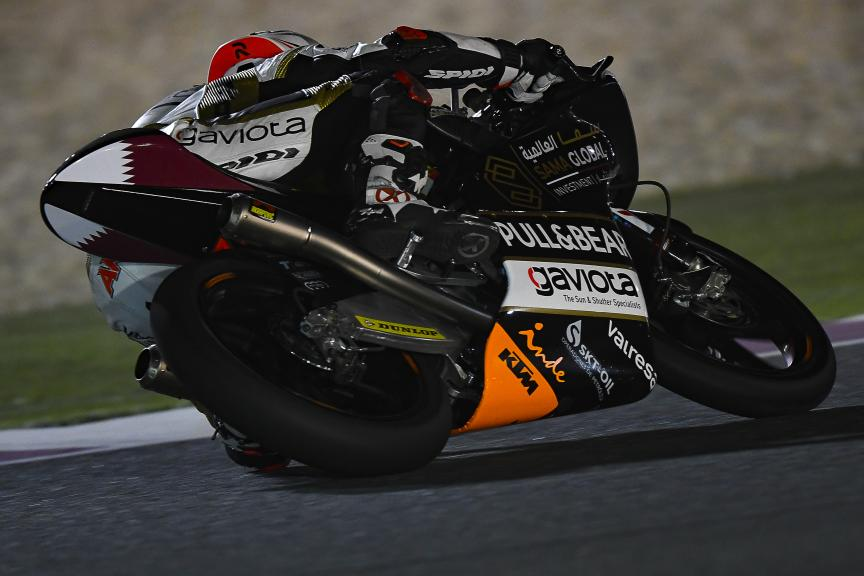 Albert Arenas, Angel Nieto Team, Qatar Moto2™-Moto3™ Test