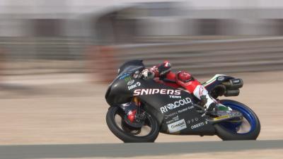 Wer war beim Moto3™ Katar-Test am schnellsten?