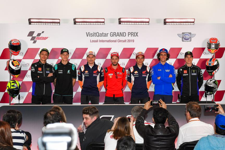 Press-Conference, VisitQatar Grand Prix