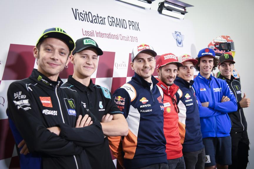 Press-Conference, VisitQatar Grand Prix