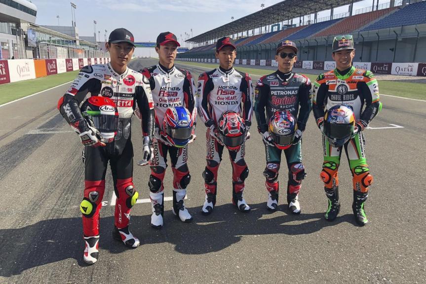 Japanese riders