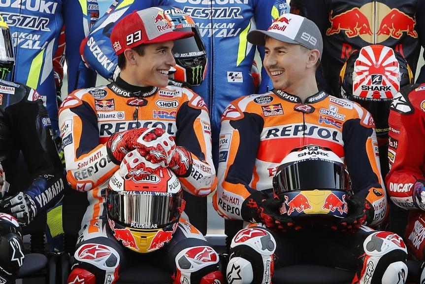 Marc Marquez, Jorge Lorenzo, Repsol Honda Team, VisitQatar Grand Prix