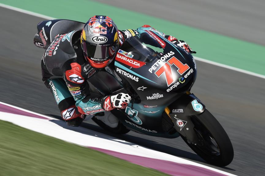 Ayumu Sasaki, Petronas Sprinta Racing, VisitQatar Grand Prix