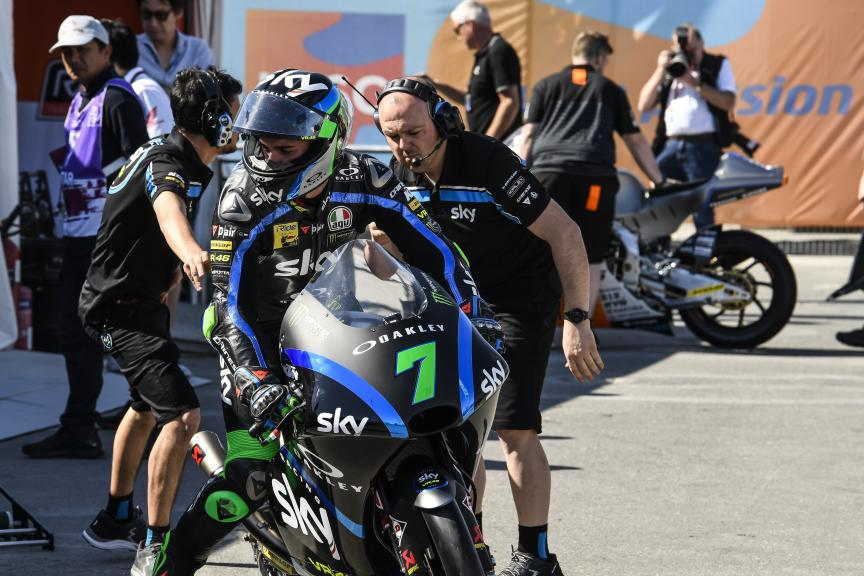 Dennis Foggia, Sky Racing Team VR46, VisitQatar Grand Prix