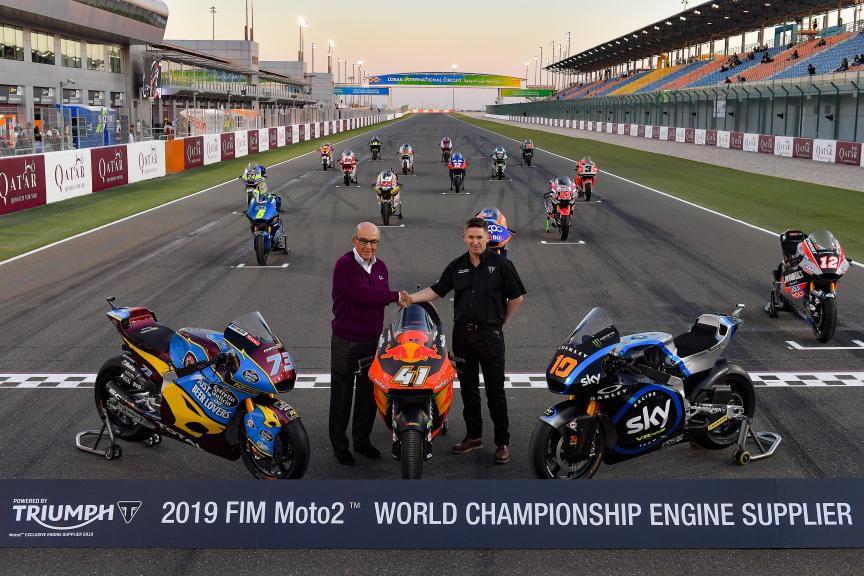 Triumph Supplier Moto2 Official Photo