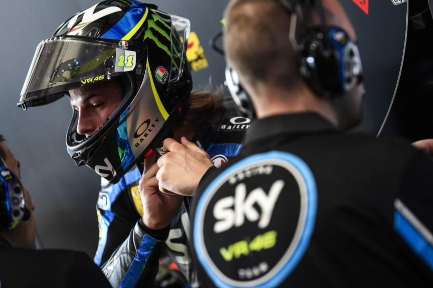 Nicolo Bulega, Sky Racing Team VR46, VisitQatar Grand Prix