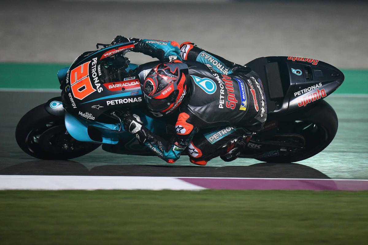 "P5 for Quartararo after ""really positive start"" in Qatar 