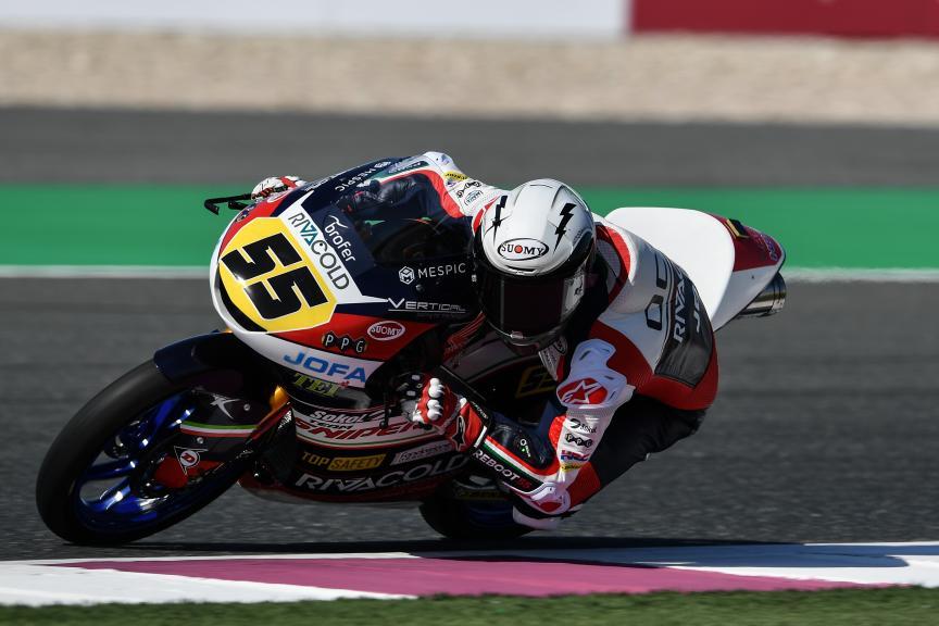 Romano Fenati, Snipers Team, VisitQatar Grand Prix