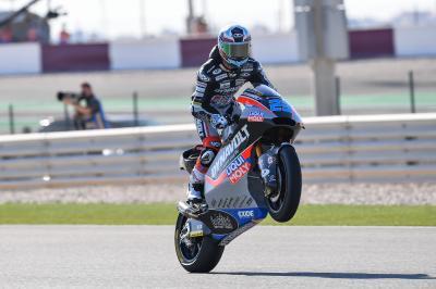 Schrötter, el más rápido de Moto2™ por delante de Vierge