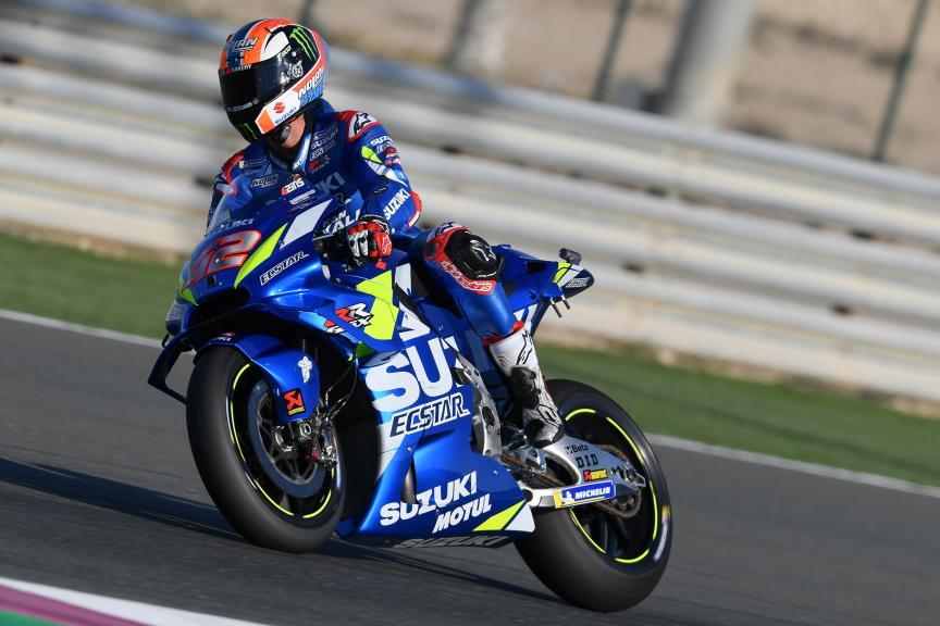 Alex Rins, Team Suzuki Ecstar, VisitQatar Grand Prix