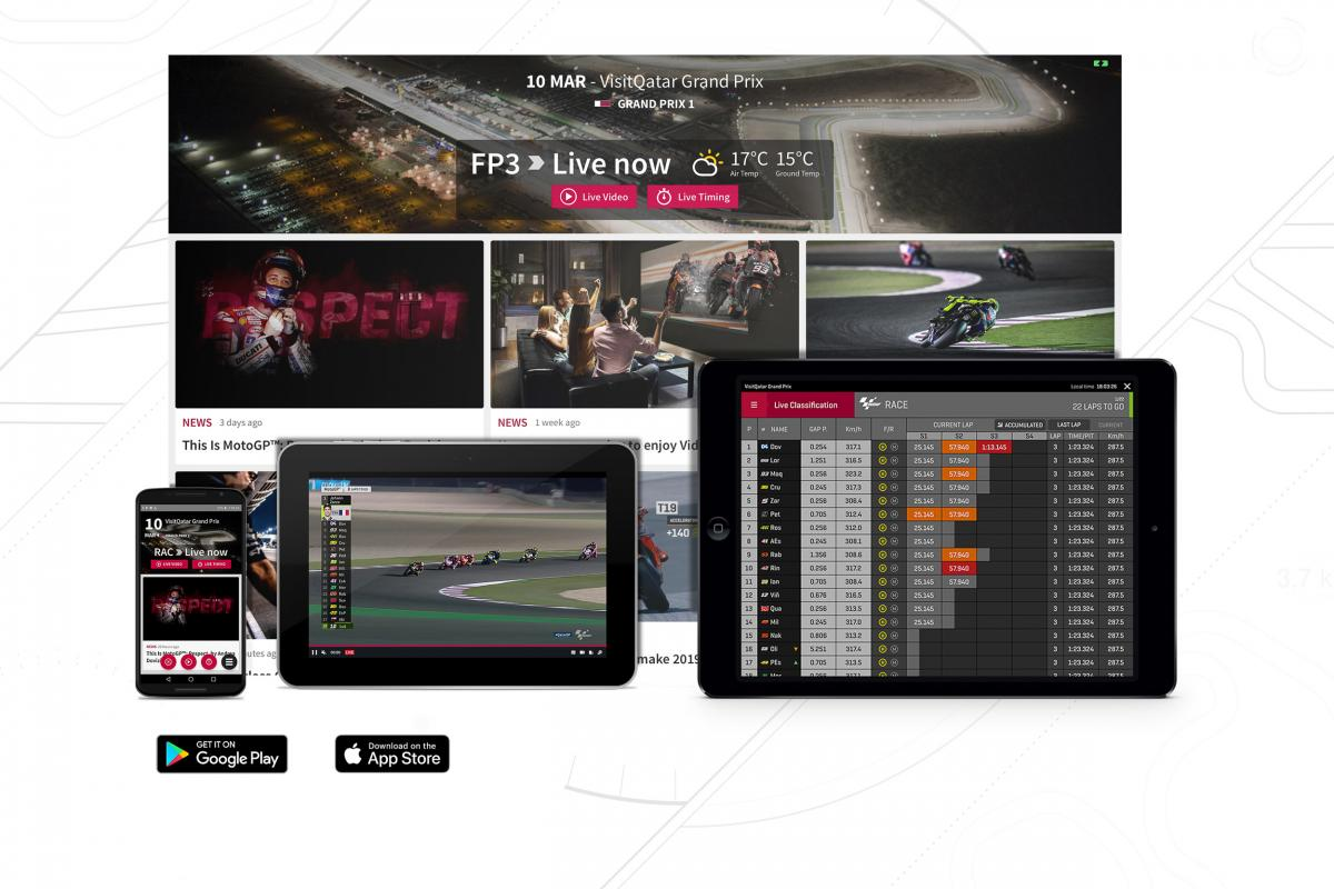 Download the free Official MotoGP™ App now! | MotoGP™
