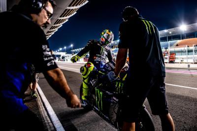 Journée étrange pour Rossi...