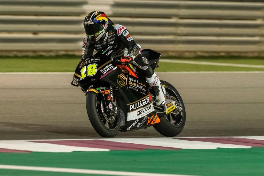 Xavier Cardelus, Sama Qatar Angel Nieto Team, VisitQatar Grand Prix