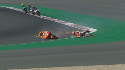 Marquez crashes out of FP3