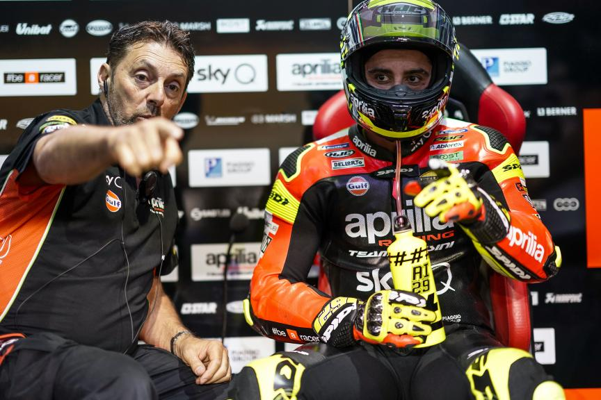 Andrea Iannone, Aprilia Racing Team Gresini, VisitQatar Grand Prix