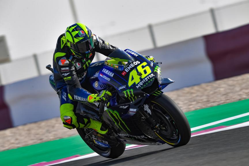 Valentino Rossi, Monster Energy Yamaha Motogp, VisitQatar Grand Prix