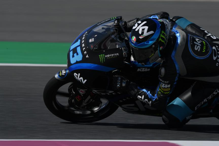 Celestino Vietti, Sky Racing Team VR46, VisitQatar Grand Prix