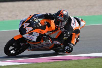 FP3 in Qatar, protagonista il vento e Canet è primo