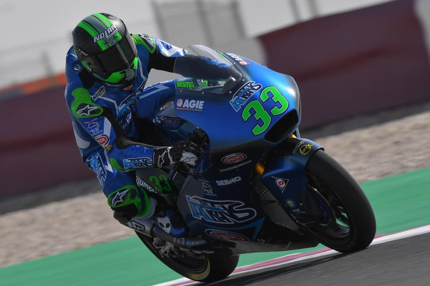 Enea Bastianini, Italtrans Racing Team, VisitQatar Grand Prix