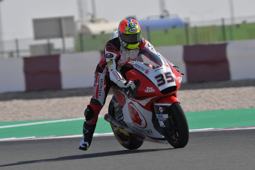 Somkiat Chantra, Idemitsu Honda Team Asia, VisitQatar Grand Prix