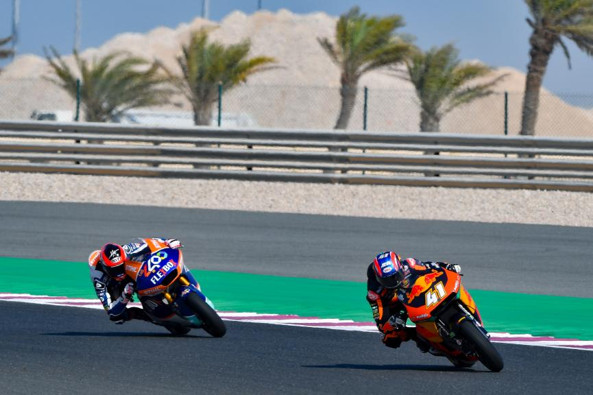 Brad Binder, Red Bull KTM Ajo, VisitQatar Grand Prix