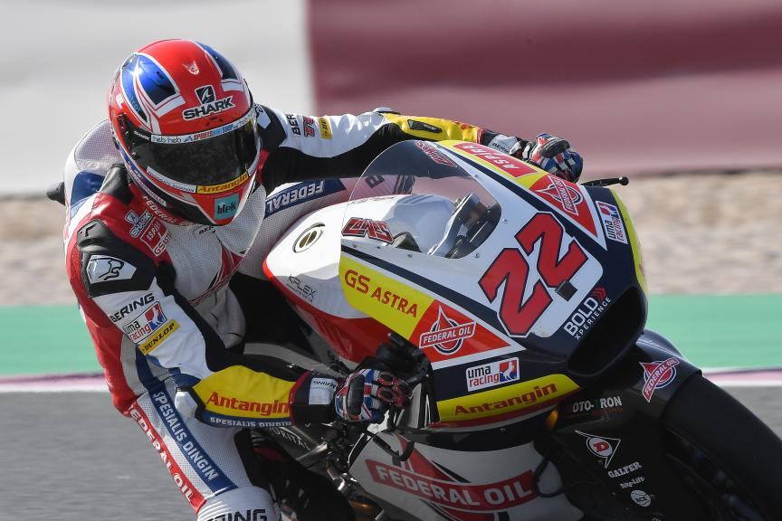 Sam Lowes, Federal Oil Gresini Moto2, VisitQatar Grand Prix