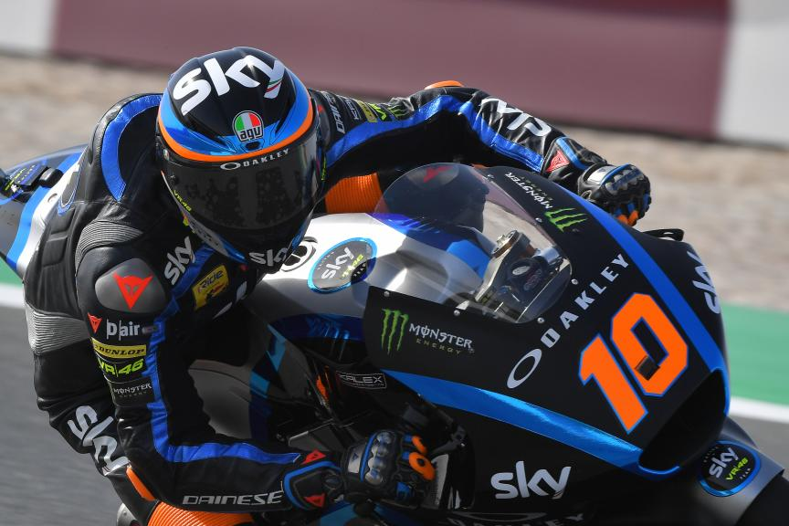 Luca Marini, Sky Racing Team VR46, VisitQatar Grand Prix