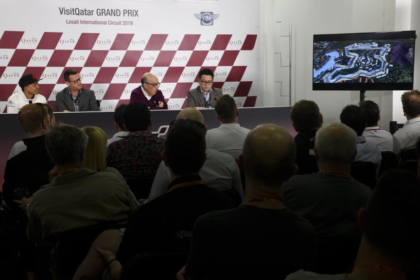 Indonesia Press-Conference, VisitQatar Grand Prix