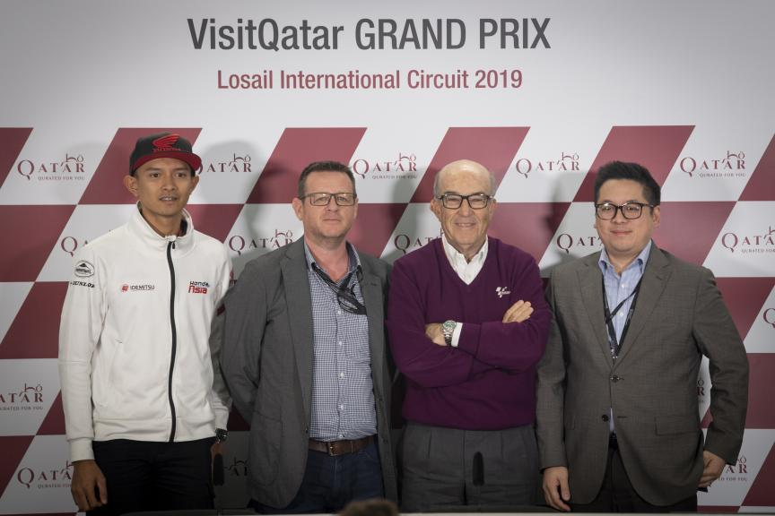 Indonesia Press-Conference, VisitQatar Grand Prix