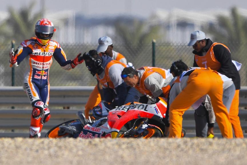 Marc Marquez, Repsol Honda Team, VisitQatar Grand Prix @Tino Martino