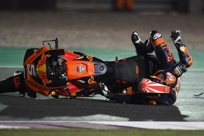 Zarco with problems and up against track conditions