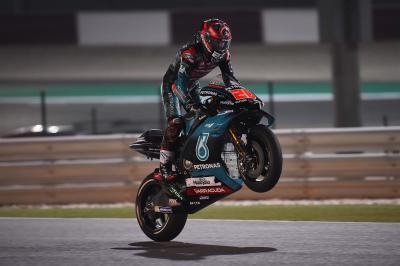 Quartararo, cinquième pour son premier départ en MotoGP™