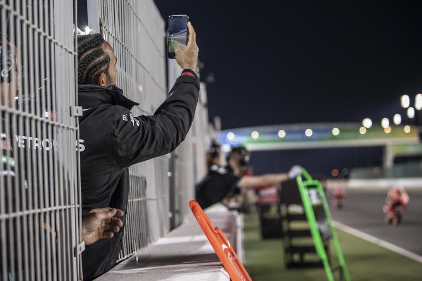 Luis Hamilton, VisitQatar Grand Prix