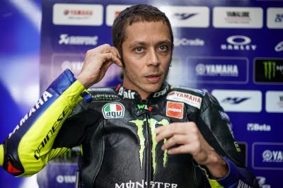Rossi the Sunday rider