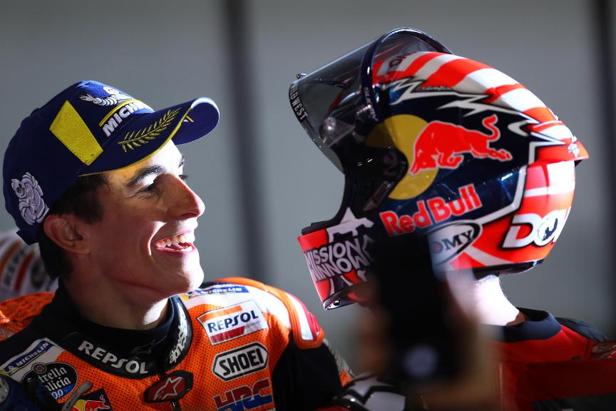 Andrea Dovizioso, Mission Winnow Ducati, Marc Marquez, Repsol Honda Team, VisitQatar Grand Prix