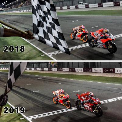 Spot the difference #QatarGP