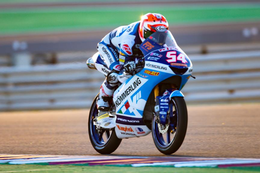 Riccardo Rossi, Kőmmerling Gresini Moto3, VisitQatar Grand Prix
