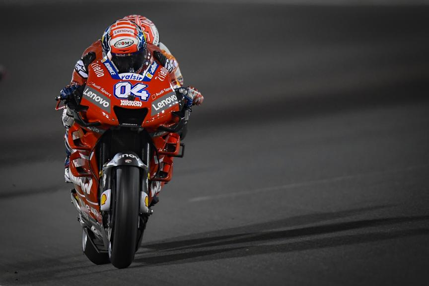 Andrea Dovizioso, Mission Winnow Ducati, VisitQatar Grand Prix